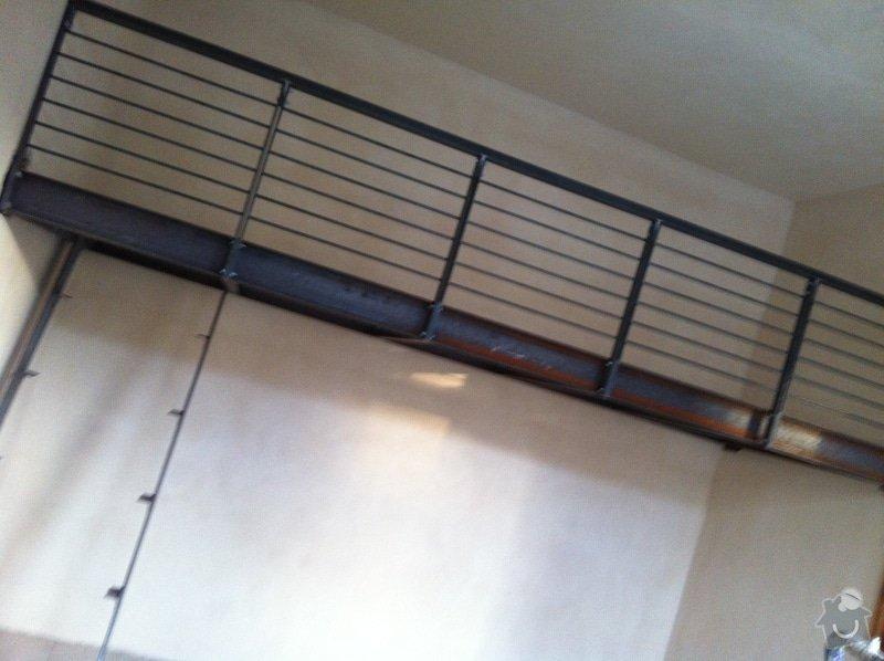 Konstrukce kovového patra na spaní do činžovního domu: IMG_1517