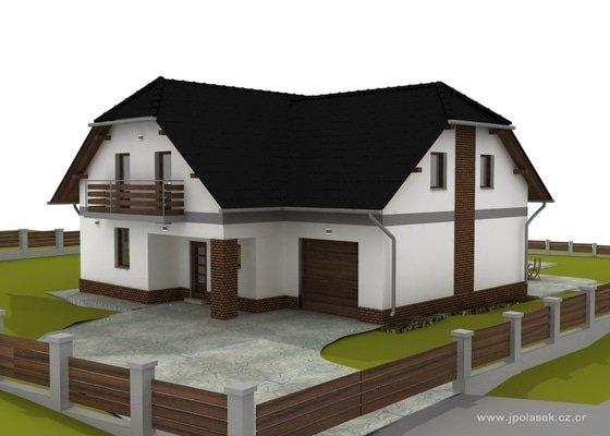 Návrh interiéru a exteriéru novostavby