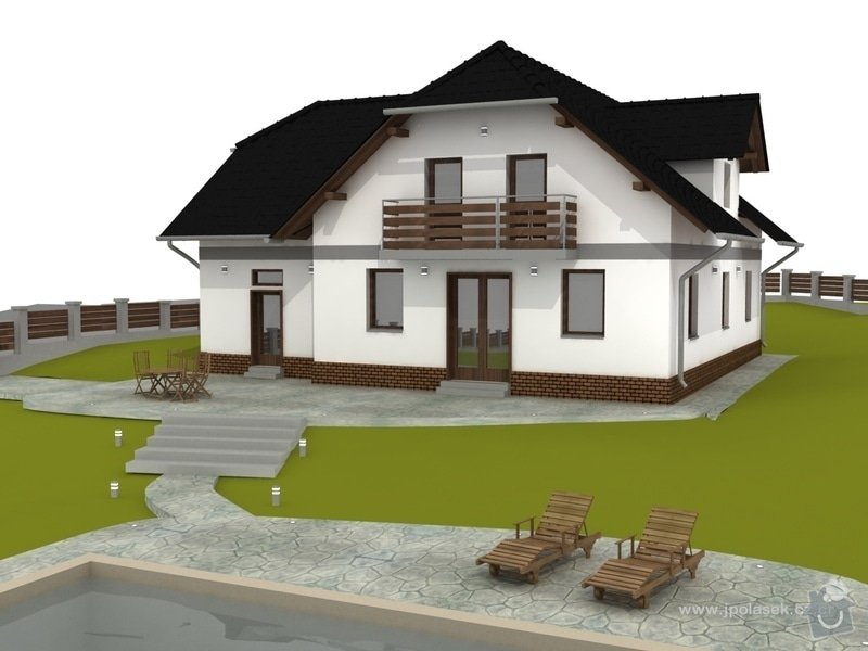 Návrh interiéru a exteriéru novostavby: RDkajlikovi8