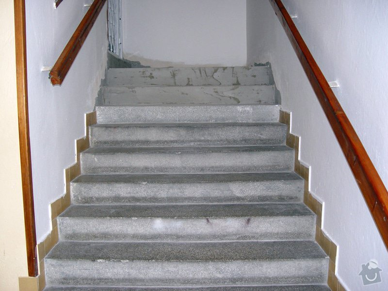 Oprava schodiste teraco: schody1