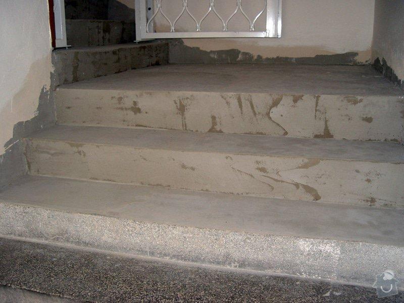 Oprava schodiste teraco: schody2