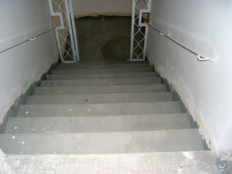 Oprava schodiste teraco: schody3