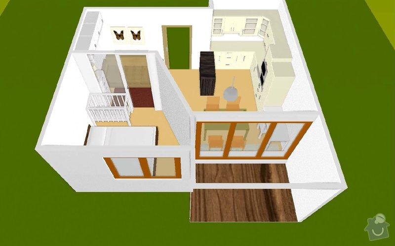 SDK příčka (vč. úpravy elektrických rozvodů): martaskova_3Dmodel_1