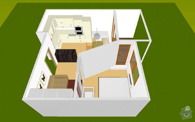 SDK příčka (vč. úpravy elektrických rozvodů): martaskova_3Dmodel_2