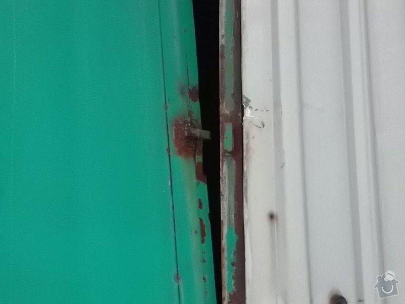 Plechová vrata na výrobní hale: SAM_1785