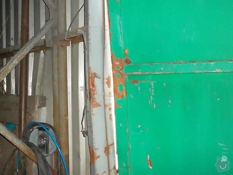 Plechová vrata na výrobní hale: SAM_1790