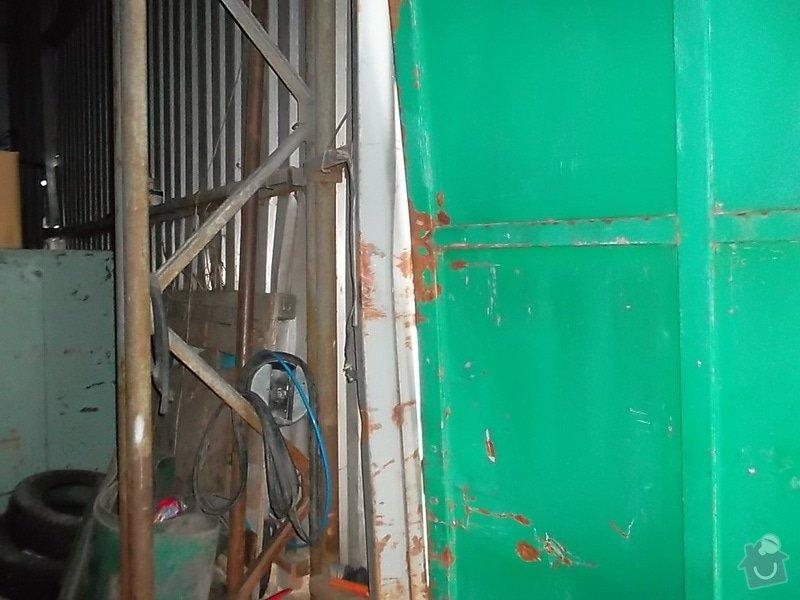 Plechová vrata na výrobní hale: SAM_1792