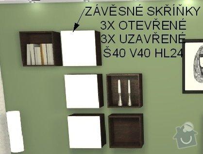Obývací stěna - Mělník: obyvak2