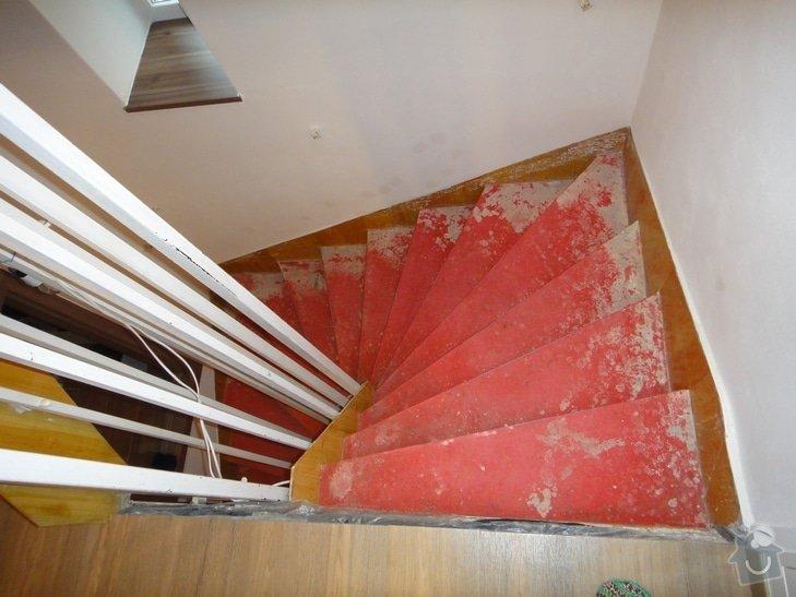 Renovace schodiště: 2.NP_m