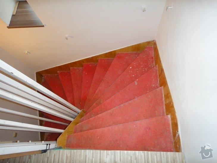 Renovace schodiště: 3.NP_m