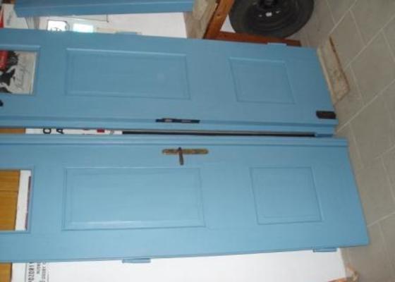 Renovace vstupních dveří