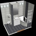 Rekonstrukce koupelny m50