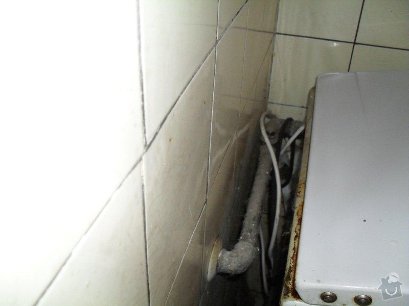 Odpojení starého sporáku a napojení nového (oba kombinované plyn/elektro): 019
