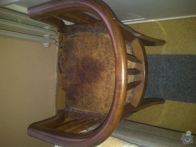 Oprava čalounění židle: ZPotah2