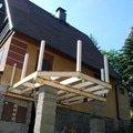 Stavba balkonu u chatky 3x3 5m jan rubek perstejn hruby okounov 05