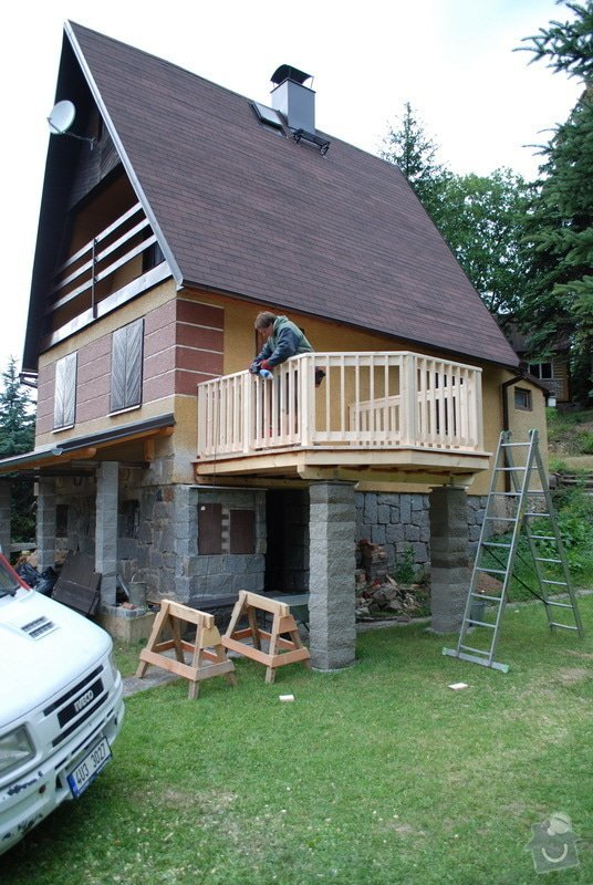 Stavba balkonu u chatky 3x3,5m: jan_rubek_perstejn_hruby_okounov_07
