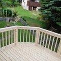Stavba balkonu u chatky 3x3 5m jan rubek perstejn hruby okounov 09