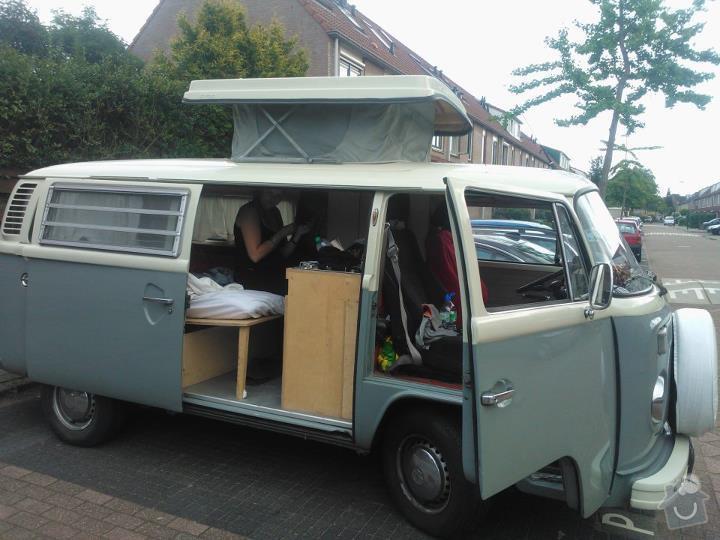 Finalizing Interior Classic VW Camper Van: van-1