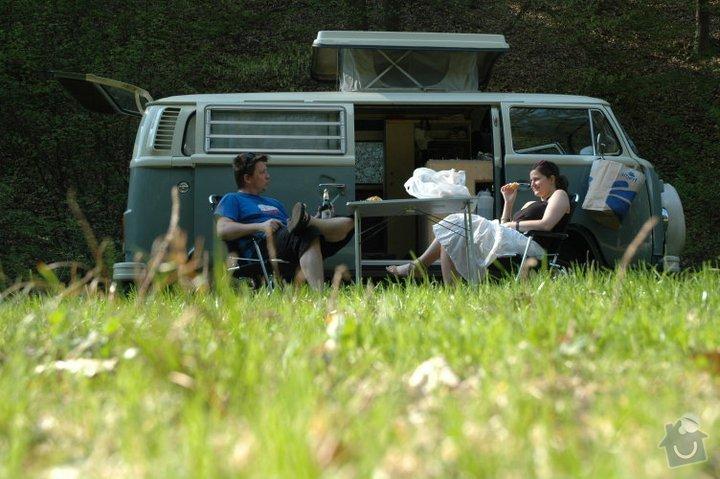 Finalizing Interior Classic VW Camper Van: van-2