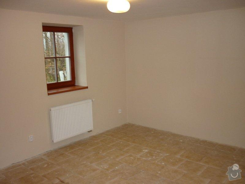 Položení dřevěné plovoucí podlahy: P1050272