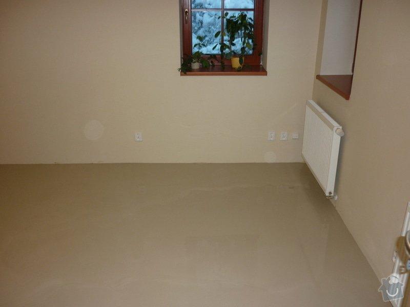 Položení dřevěné plovoucí podlahy: P1050337