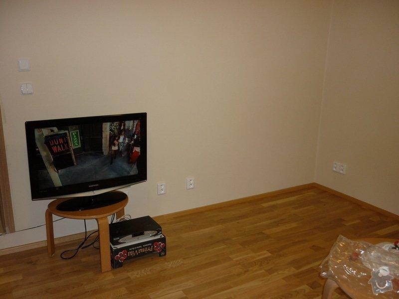 Položení dřevěné plovoucí podlahy: P1050349