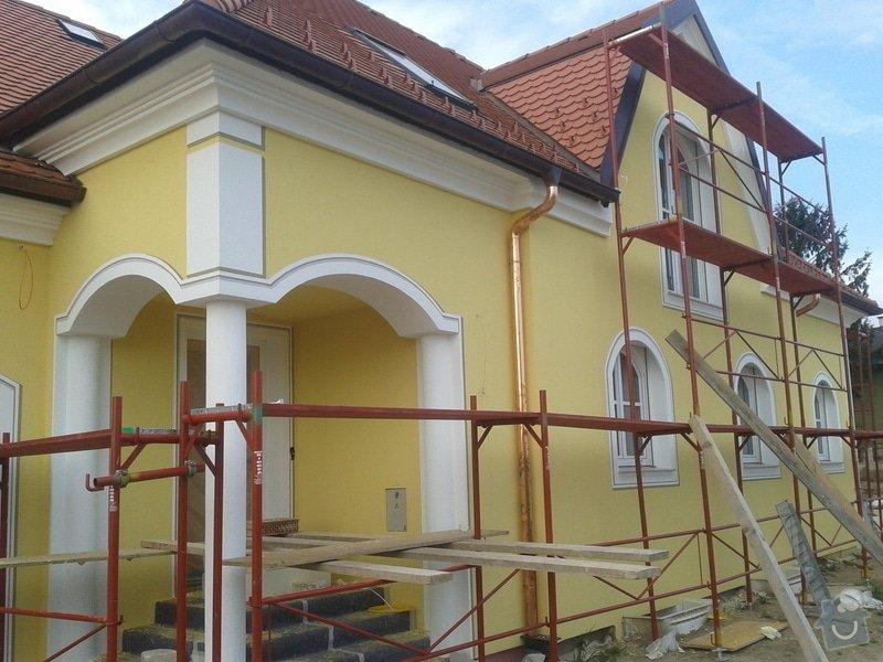 Zateplení domu, silikonová probarvená omítka: 2012-05-03_07.48.29