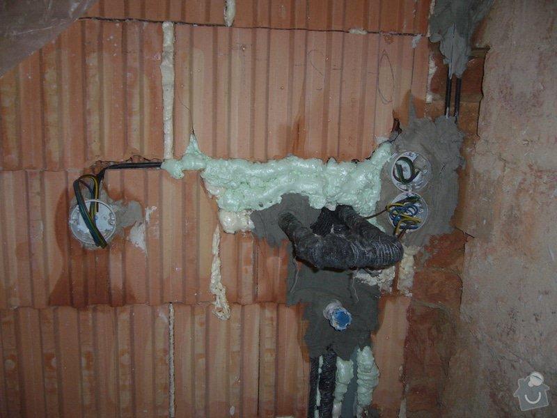 Rekonstrukce koupelny: Hruba_26