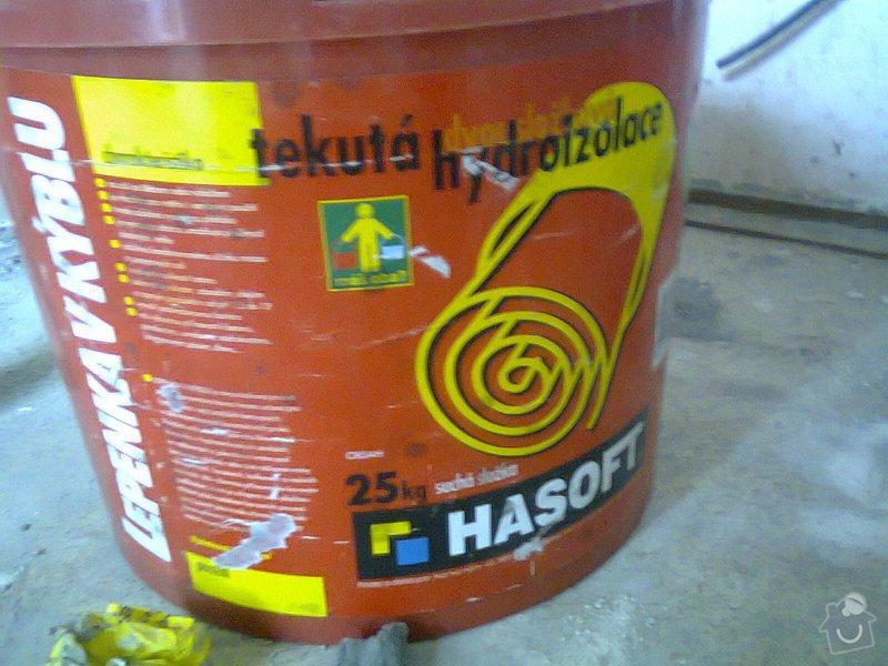 Rekonstrukce koupelny: Hydroizolace_1