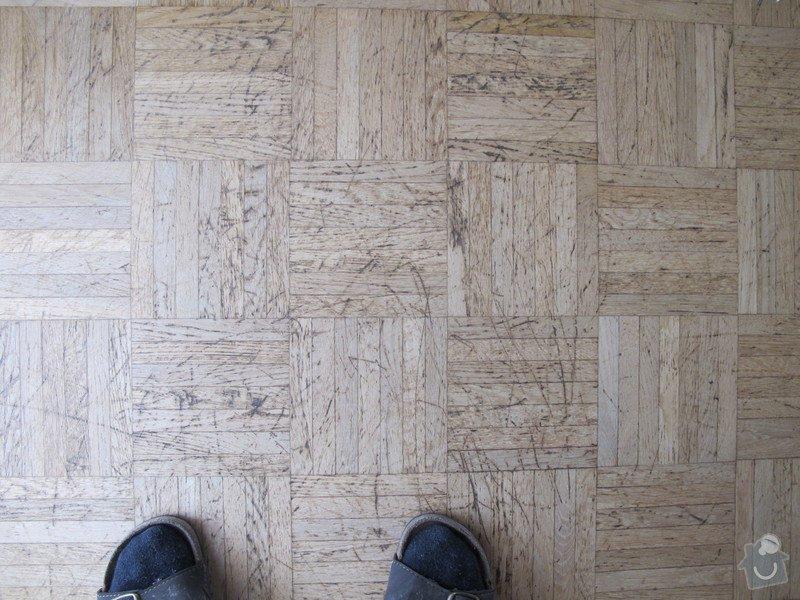 Renovace dřevěné podlahy a malování: podlaha_001
