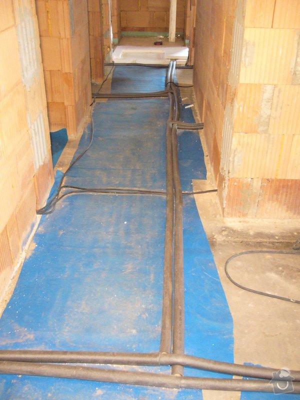 Rozvod vody, odpadů, topení, plynu, centrálního vysavače a příprava pro změkčovací filtr.: instalace_6
