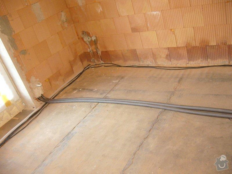 Rozvod vody, odpadů, topení, plynu, centrálního vysavače a příprava pro změkčovací filtr.: instalace_8
