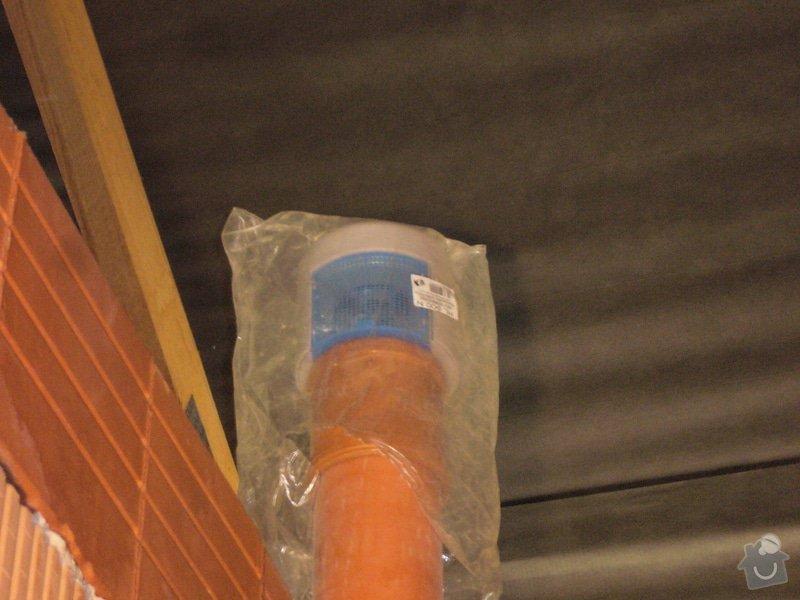 Rozvod vody, odpadů, topení, plynu, centrálního vysavače a příprava pro změkčovací filtr.: instalace_9