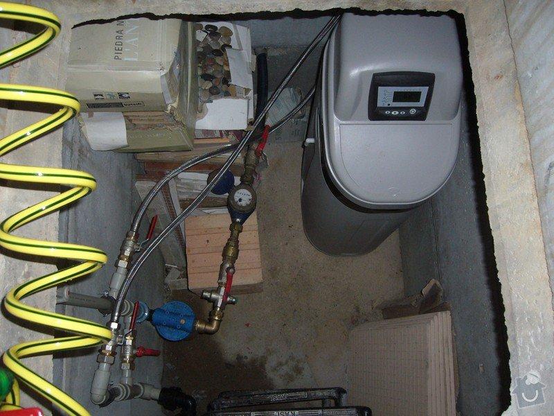 Změkčovací filtr pro rodinný dům.: Změkčovač vody