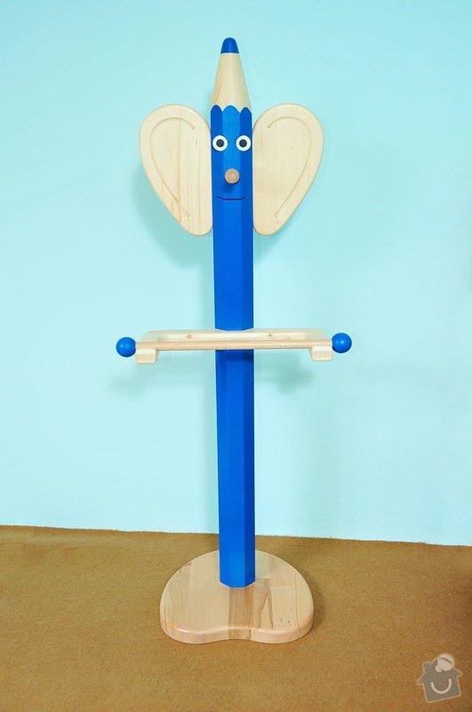 Dětský dřevěný němý sluha: _DSC4296