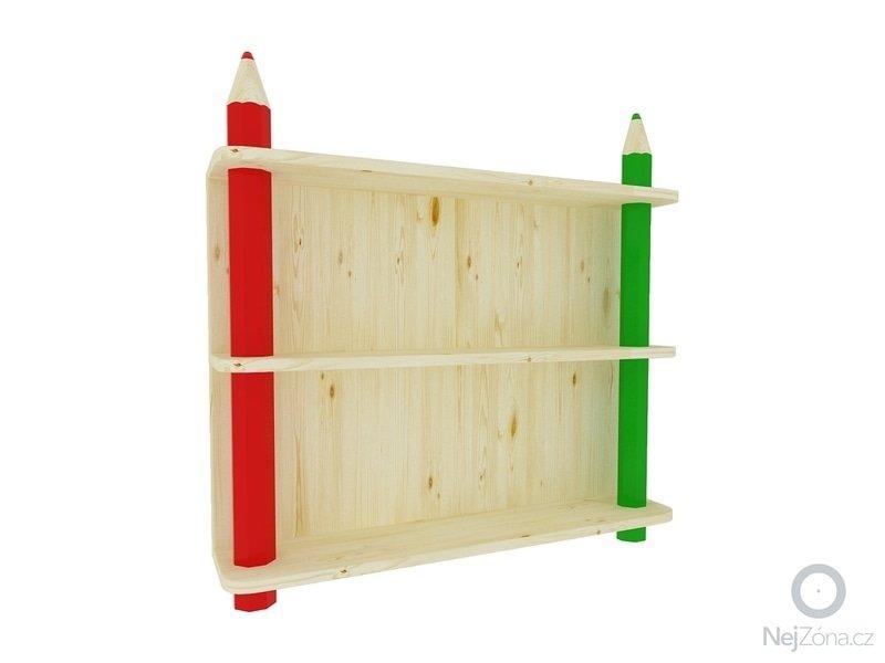 Dětská dřevěná knihovna: P0505x