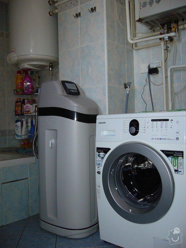 ZMĚKČOVACÍ AUTOMATICKÝ FILTR pro rodinný dům.: Změkčovač vody