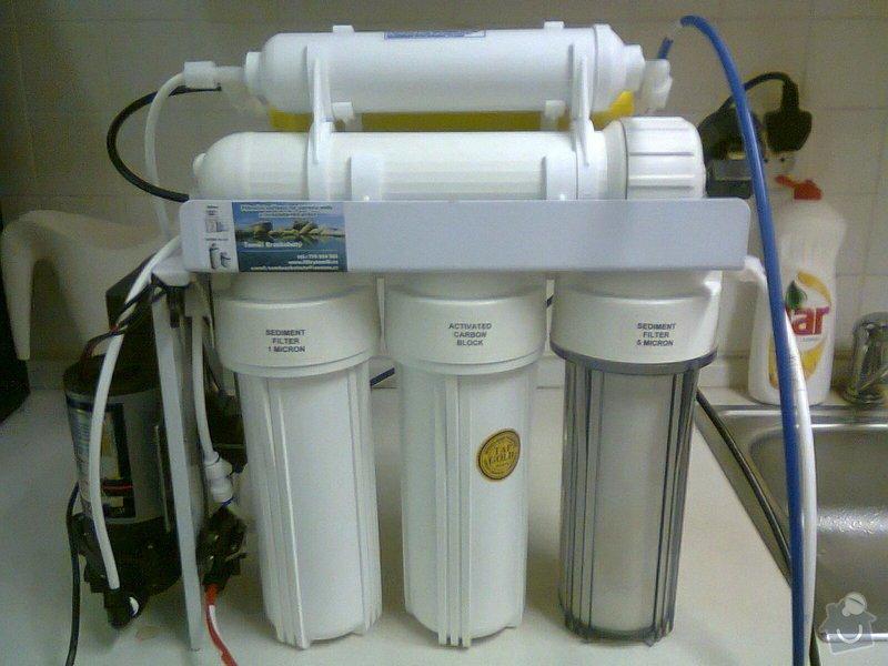 Výměna filtrů reverzní osmózy: RO_106_Mineral_cerpadlo