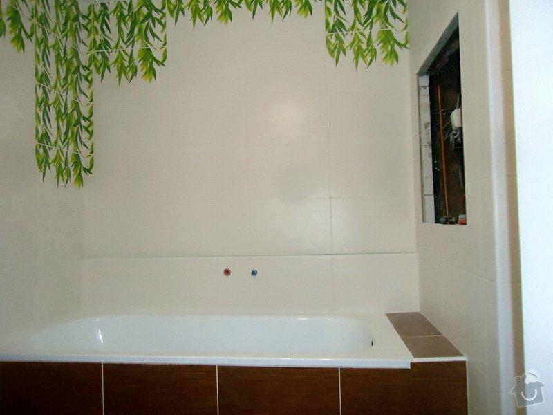 Obklad+dlažba wc a koupelna + dlažba v předsíni: 01