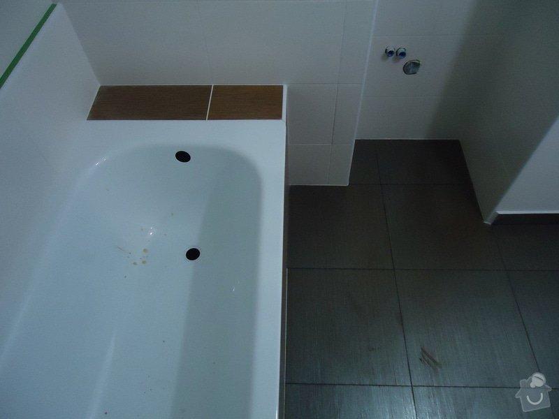 Obklad+dlažba wc a koupelna + dlažba v předsíni: 05