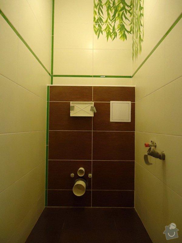 Obklad+dlažba wc a koupelna + dlažba v předsíni: 06