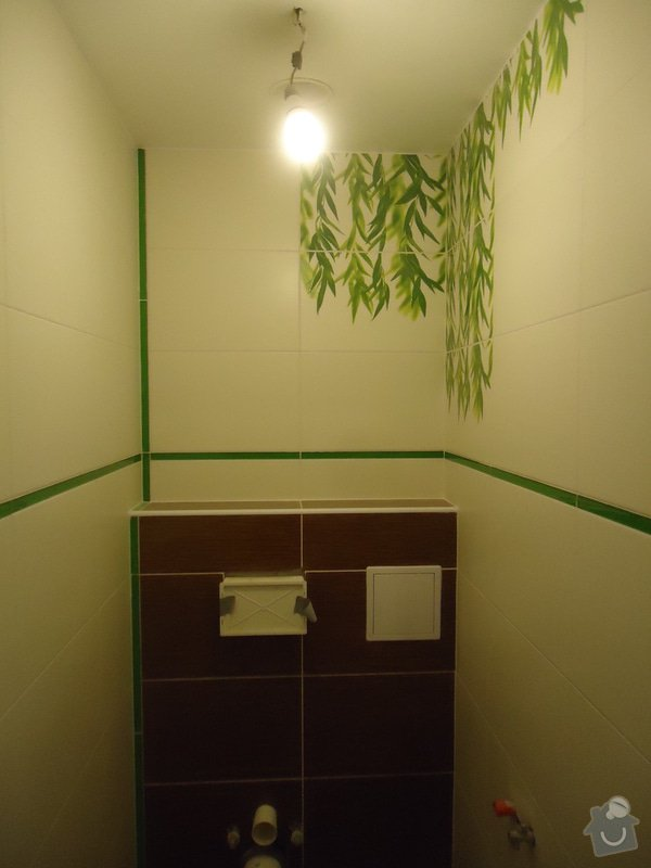 Obklad+dlažba wc a koupelna + dlažba v předsíni: 07