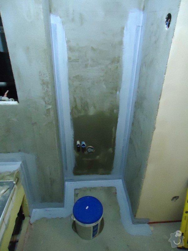 Obklad+dlažba wc a koupelna + dlažba v předsíni: 10