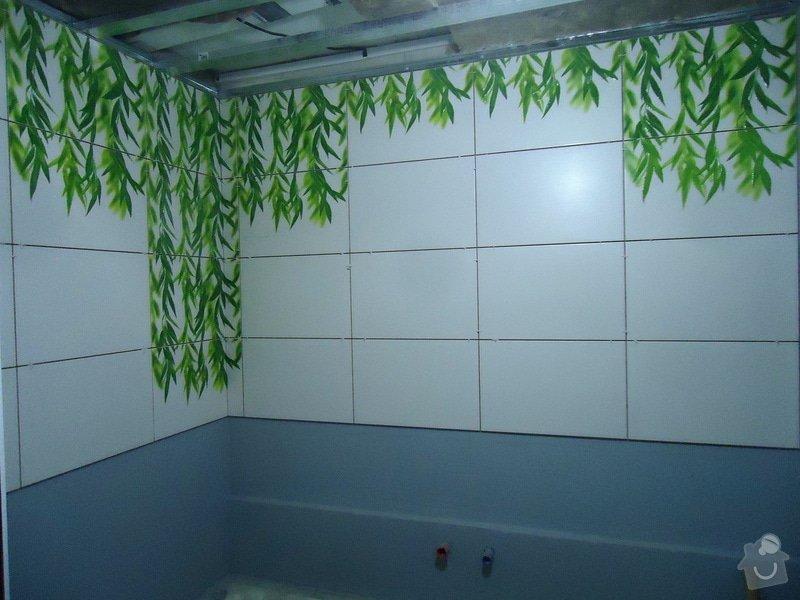 Obklad+dlažba wc a koupelna + dlažba v předsíni: 12