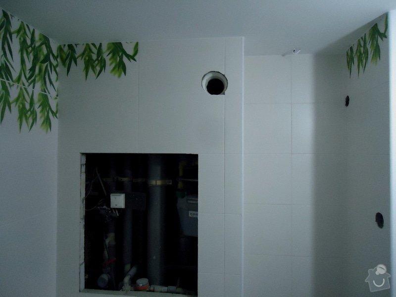 Obklad+dlažba wc a koupelna + dlažba v předsíni: 15