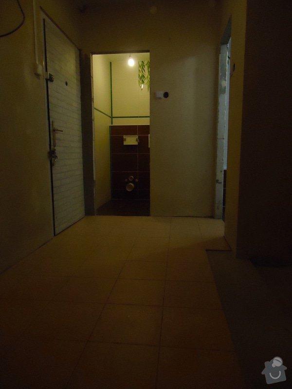 Obklad+dlažba wc a koupelna + dlažba v předsíni: 16