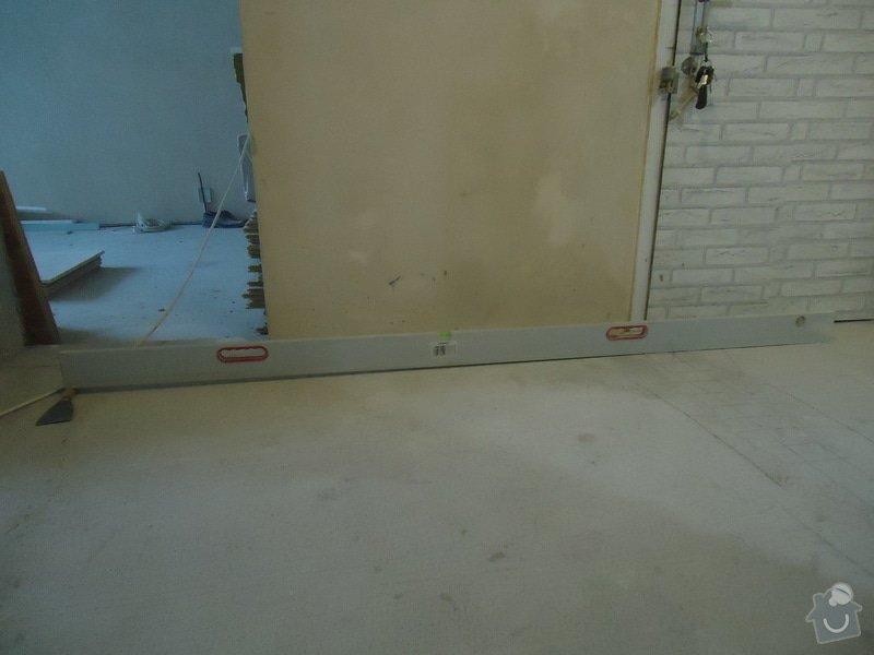Obklad+dlažba wc a koupelna + dlažba v předsíni: 17