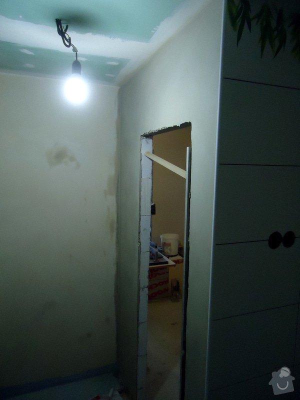 Obklad+dlažba wc a koupelna + dlažba v předsíni: 23