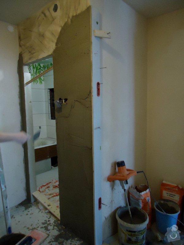 Obklad+dlažba wc a koupelna + dlažba v předsíni: 24