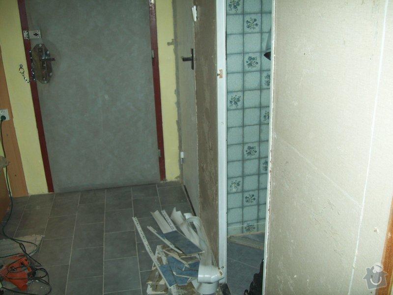 Rekonstrukce koupelny a WC v panelákovém bytě: 100_1123